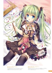 Rating: Safe Score: 59 Tags: digital_version headphones melon-chan tatekawa_mako thighhighs User: Twinsenzw