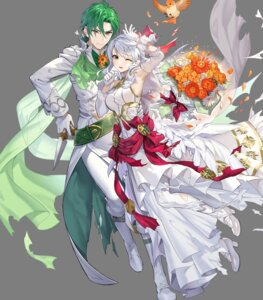 Rating: Questionable Score: 7 Tags: dress fire_emblem fire_emblem:_akatsuki_no_megami fire_emblem_heroes heels micaiah nintendo see_through sothe teffish torn_clothes weapon wedding_dress User: fly25