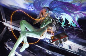 Rating: Safe Score: 41 Tags: bodysuit daible hatsune_miku headphones vocaloid User: Humanpinka