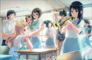 Rating: Safe Score: 22 Tags: crease fixme hibike!_euphonium ikeda_shouko megane seifuku User: fireattack