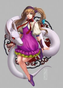 Rating: Safe Score: 18 Tags: dress kotikomori monster User: charunetra