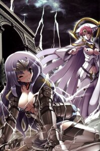 Rating: Questionable Score: 35 Tags: annelotte armor claudette cleavage queen's_blade queen's_blade_rebellion tsurugi_hagane underboob User: YamatoBomber