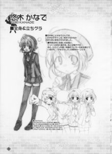 Rating: Safe Score: 4 Tags: bekkankou fortune_arterial monochrome sketch yuuki_kanade User: admin2