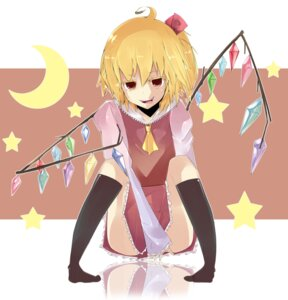 Rating: Safe Score: 6 Tags: flandre_scarlet touhou urumoo wings User: charunetra