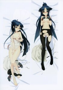 Rating: Questionable Score: 53 Tags: breast_hold dakimakura full_metal_daemon_muramasa naked_apron namaniku_atk nipples pantsu panty_pull pantyhose topless torn_clothes User: Radioactive