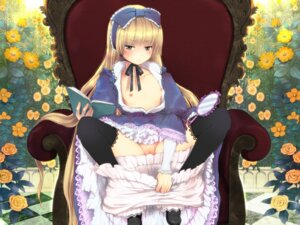 Rating: Explicit Score: 63 Tags: bloomers breasts gosick kuraichi loli lolita_fashion nipples no_bra open_shirt panty_pull pussy thighhighs uncensored victorica_de_broix wallpaper User: blooregardo