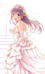 Rating: Safe Score: 61 Tags: dress haruna_(kancolle) kantai_collection wedding_dress yuumaru_(you-mya) User: Mr_GT