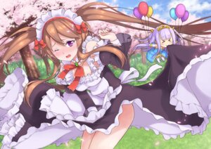 Rating: Safe Score: 25 Tags: chibi gun_(artist) maid myuseru_foaran outbreak_company petralka_anne_eldant_iii pointy_ears User: Mr_GT