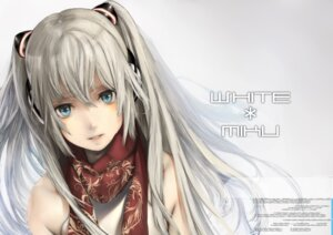 Rating: Safe Score: 37 Tags: hatsune_miku headphones kazakami_yuu vocaloid wallpaper yuki_miku User: eridani