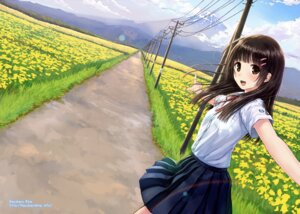 Rating: Safe Score: 70 Tags: kazuharu_kina landscape seifuku User: blooregardo