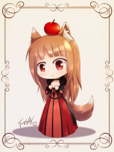Rating: Safe Score: 44 Tags: animal_ears cosplay holo langbazi maoyuu_maou_yuusha spice_and_wolf tail User: gibwar