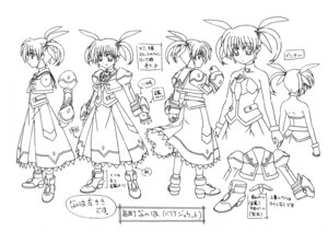 Rating: Questionable Score: 6 Tags: mahou_shoujo_lyrical_nanoha monochrome tagme User: Radioactive