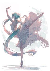 Rating: Safe Score: 26 Tags: dress erospanda hatsune_miku heels no_bra see_through skirt_lift vocaloid User: Mr_GT