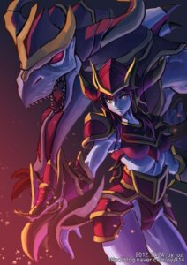Rating: Safe Score: 15 Tags: league_of_legends oz_(artist) shyvana User: fairyren
