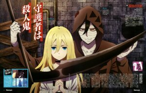 Rating: Safe Score: 22 Tags: bandages isaac_foster matsumoto_miki rachel_gardner satsuriku_no_tenshi weapon User: drop