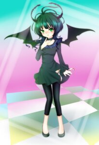 Rating: Safe Score: 9 Tags: black_rock_shooter dead_master momo_michi vocaloid wings User: Radioactive