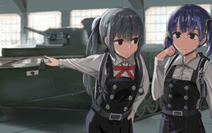 Rating: Safe Score: 25 Tags: kantai_collection kasumi_(kancolle) ooshio_(kancolle) seifuku tagme User: joshuagraham