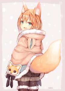 Rating: Safe Score: 27 Tags: animal_ears kitsune pantyhose sukemyon tail thighhighs User: Mr_GT