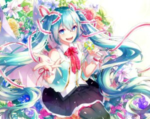 Rating: Safe Score: 42 Tags: gari hatsune_miku thighhighs vocaloid User: charunetra
