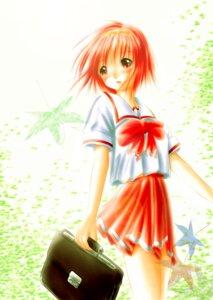 Rating: Safe Score: 6 Tags: kamigishi_akari nimura_yuuji seifuku to_heart to_heart_(series) User: fireattack