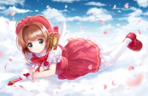 Rating: Safe Score: 17 Tags: card_captor_sakura kinomoto_sakura moai thighhighs User: fairyren
