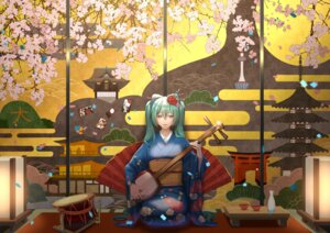 Rating: Safe Score: 20 Tags: hatsune_miku kimono sumomo sumomo7317 vocaloid User: charunetra