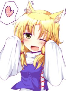 Rating: Safe Score: 23 Tags: animal_ears moriya_suwako nekomimi touhou tyata-maru User: Nekotsúh