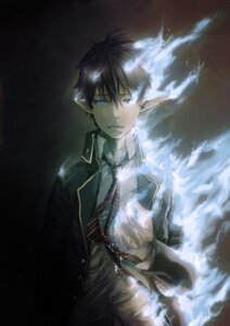 Rating: Safe Score: 10 Tags: ao_no_exorcist hitaki_azami okumura_rin User: hobbito