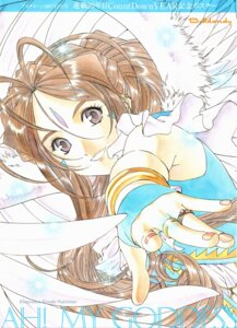 Rating: Safe Score: 7 Tags: ah_my_goddess belldandy fujishima_kousuke screening wings User: minakomel