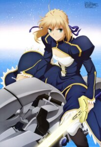 Rating: Safe Score: 19 Tags: fate/stay_night fate/zero saber shiojima_yuka User: Jigsy