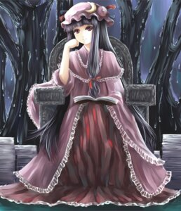 Rating: Safe Score: 9 Tags: patchouli_knowledge touhou vetina User: Radioactive