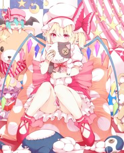 Rating: Safe Score: 58 Tags: flandre_scarlet mikoma_sanagi patchouli_knowledge remilia_scarlet touhou User: Mr_GT