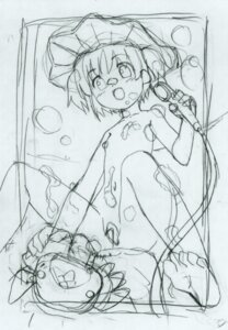 Rating: Questionable Score: 4 Tags: kuuchuu_yousai monochrome sketch User: petopeto