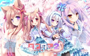 Rating: Safe Score: 61 Tags: animal_ears calendar game-style japanese_clothes lump_of_sugar mito_kohaku mito_mashiro moekibara_fumitake pantyhose saijou_hifumi seifuku skirt_lift tail tayutama tayutama_2 wallpaper yunohana_nano User: moonian