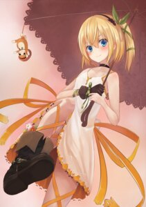 Rating: Safe Score: 75 Tags: dress edna pi-pie summer_dress tales_of tales_of_zestiria umbrella User: Mr_GT
