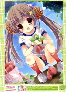 Rating: Questionable Score: 32 Tags: buruma gym_uniform mizusawa_mimori User: drop