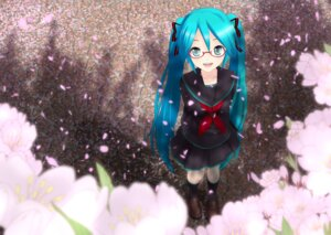 Rating: Safe Score: 42 Tags: akahige hatsune_miku megane seifuku vocaloid User: aihost