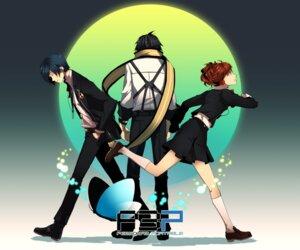 Rating: Safe Score: 9 Tags: arisato_minato female_protagonist_(p3) megaten mochizuki_ryouji persona persona_3 tonkotsu_ramen User: Radioactive
