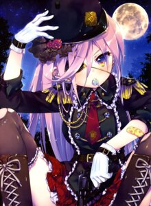 Rating: Safe Score: 50 Tags: bandaid ech eyepatch gun thighhighs torn_clothes uniform User: drop