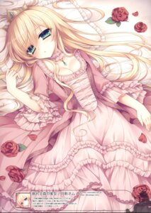 Rating: Safe Score: 54 Tags: cleavage dress sleeping_beauty tsukikage_nemu User: Twinsenzw