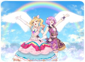 Rating: Safe Score: 11 Tags: aikatsu! aikatsu_stars! dress hitoto megane nanakura_koharu nijino_yume User: Mr_GT