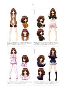 Rating: Safe Score: 18 Tags: bike_shorts character_design dress gym_uniform pajama seifuku tagme ushinawareta_mirai_wo_motomete User: Twinsenzw
