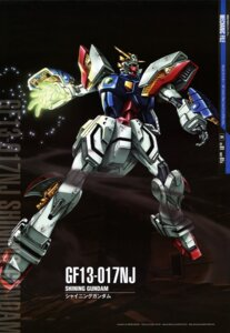 Rating: Safe Score: 7 Tags: g_gundam gundam maeda_seimei mecha shining_gundam User: Aurelia
