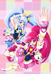 Rating: Safe Score: 7 Tags: aino_megumi dress happiness_charge_precure! heels kamikita_futago pretty_cure ribbon_(precure) shirayuki_hime_(precure) thighhighs User: drop