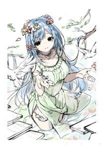Rating: Questionable Score: 3 Tags: dress emori_miku emori_miku_project miwabe_sakura summer_dress User: Radioactive