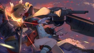 Rating: Safe Score: 23 Tags: azur_lane isaka_wasabi sword torn_clothes uniform warspite_(azur_lane) User: BattlequeenYume