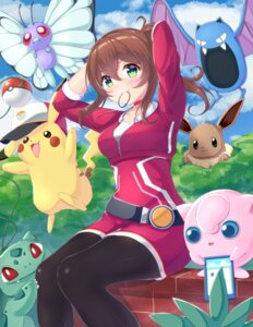 Rating: Safe Score: 44 Tags: bulbasaur butterfree eevee golbat hio_(hiohio0306) jigglypuff pantyhose pikachu pokemon pokemon_go pokemon_trainer User: Mr_GT