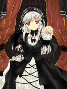 Rating: Safe Score: 13 Tags: hanabana_tsubomi lolita_fashion rozen_maiden suigintou wings User: charunetra