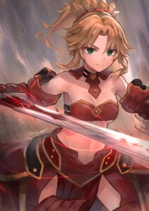 Rating: Safe Score: 26 Tags: armor bikini_armor cleavage fate/apocrypha fate/stay_night mordred_(fate) neon_beat sword underboob User: Mr_GT