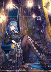 Rating: Safe Score: 47 Tags: dress gothic_lolita heels lolita_fashion pantyhose watermark yuna_(deadawon) User: Mr_GT